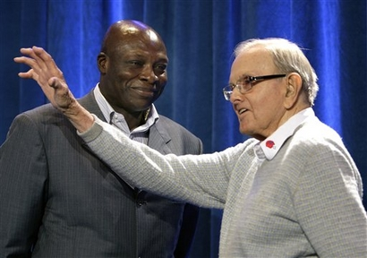 AP Photo - Bruce Smith and Ralph Wilson